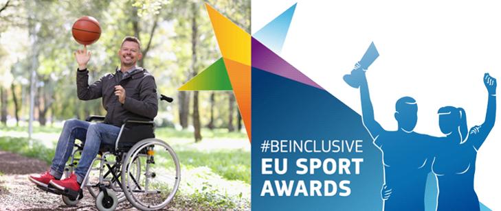 Nabór do Konkursu #BeInclusive 2021 EU Sport Awards – otwarty!